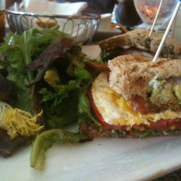 Breakfast Sandwich - Ruby's Oyster Bar and Bistro, Rye, NY