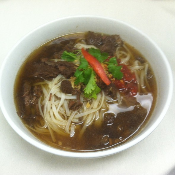 Beef noodle soup - Marnee Thai - Ann Arbor, Ann Arbor, MI