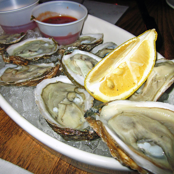 Bluepoint Oysters - AOA Bar & Grill, New York, NY