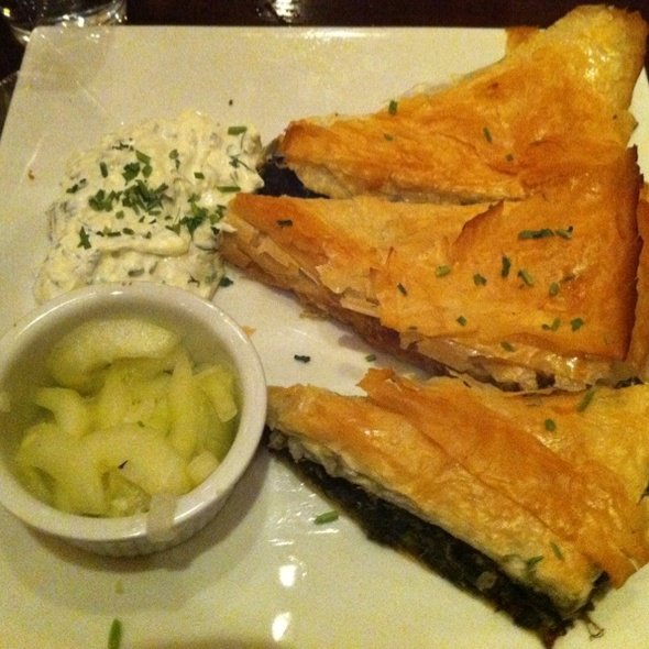 Spanakopita - Dafni Greek Taverna, New York, NY