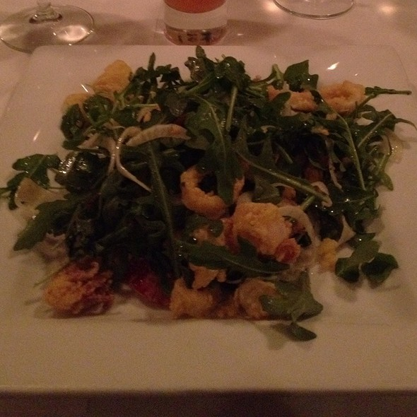 Fried Calamari Salad - Liv's Oyster Bar, Old Saybrook, CT