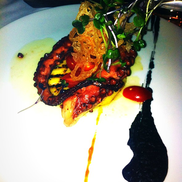 Octopus - Blu Ristorante, Toronto, ON