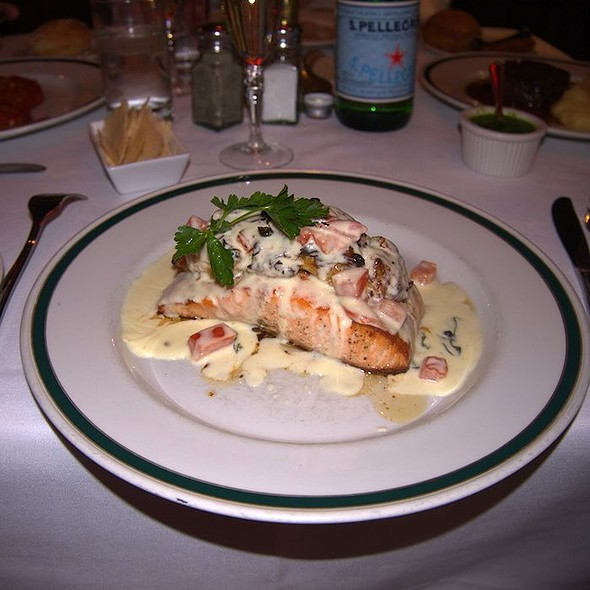 Stuffed Salmon Filet - Saloon Restaurant, Philadelphia, PA