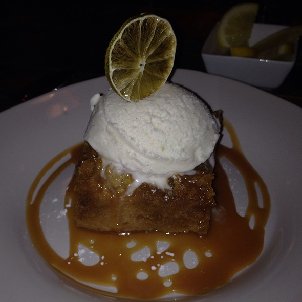 Piloncillo Bread Pudding - Farm & Table, Albuquerque, NM