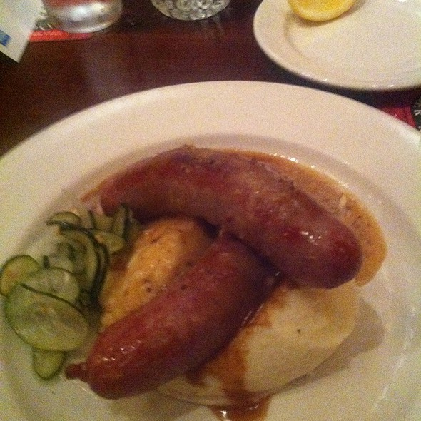Bangers And Mashed - Kells Irish Restaurant & Pub, Portland, OR