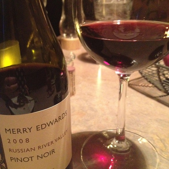 Merry Edwards Russian River Pinot Noir - Southside Bistro, Anchorage, AK