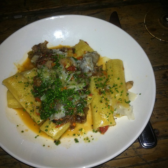 Pacchita Oxtails With Pasta - Il Buco, New York, NY