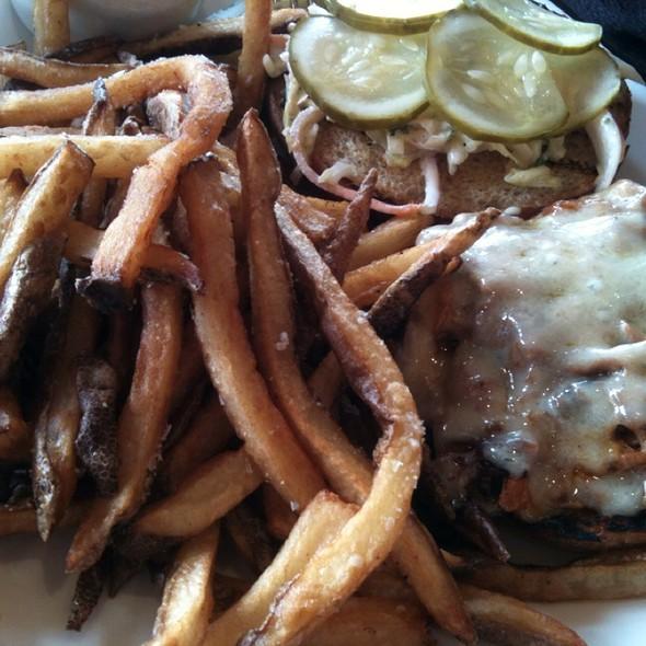 BBQ Pulled Pork Sandwich - Fivespice Seafood & Wine Bar, Lake Oswego, OR
