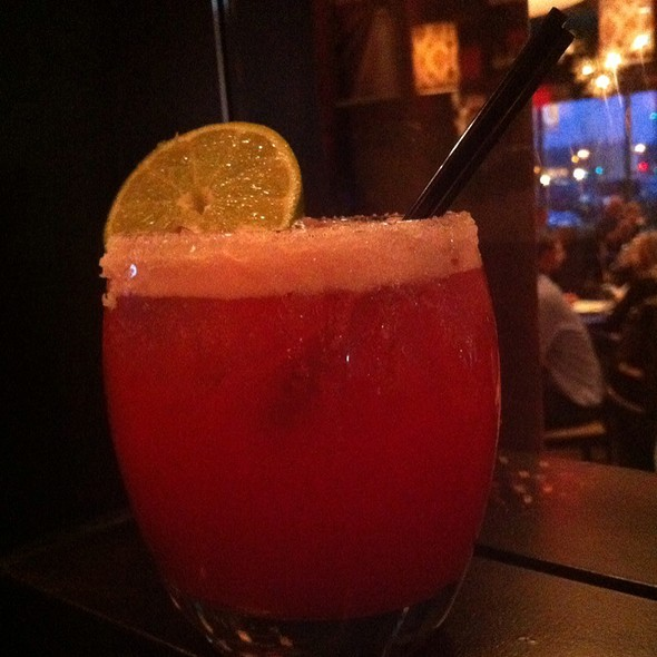 pomegranate margarita - Paladar Latin Kitchen & Rum Bar, Annapolis, MD