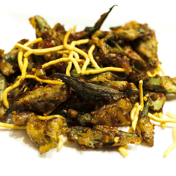 Salt and Pepper Okra - Bombay Chopsticks, Hoffman Estates, IL