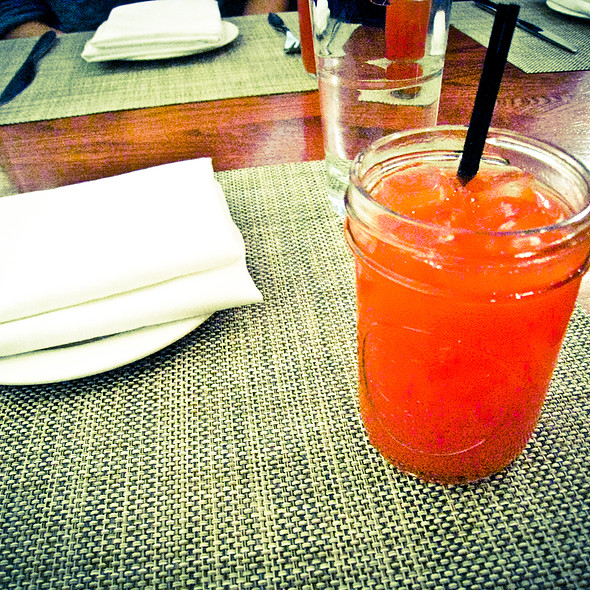 Fresh Pressed Blood Orange Juice - Firebox Restaurant, Hartford, CT