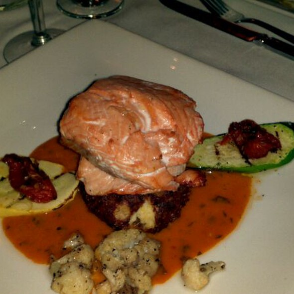 Quinalt River Salmon - The Brooklyn Seafood, Steak & Oyster House, Seattle, WA