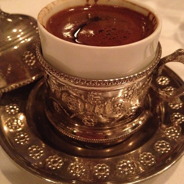 Turkish Coffee - GG's Bistro, Laguna Beach, CA
