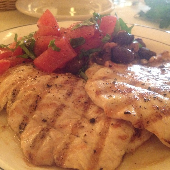 Chicken Paillard - Il Riccio, New York, NY