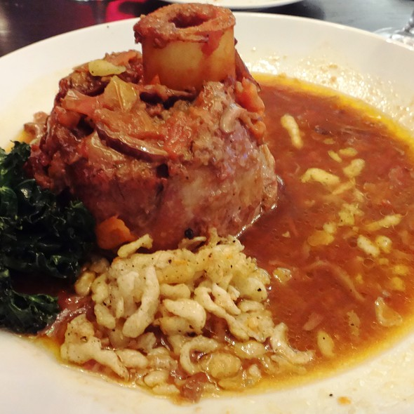 Osso Bucco - Tallulah Crafted Food and Wine Bar at Renaissance Baton Rouge, Baton Rouge, LA