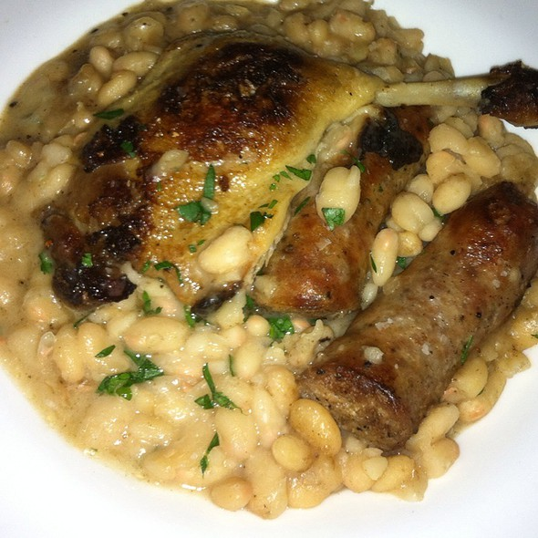 Duck Cassoulet - Devil's Den, Philadelphia, PA