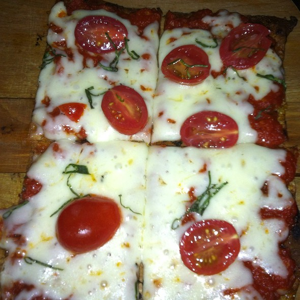 Tomato And Mozzarella Flatbread - Devil's Den, Philadelphia, PA