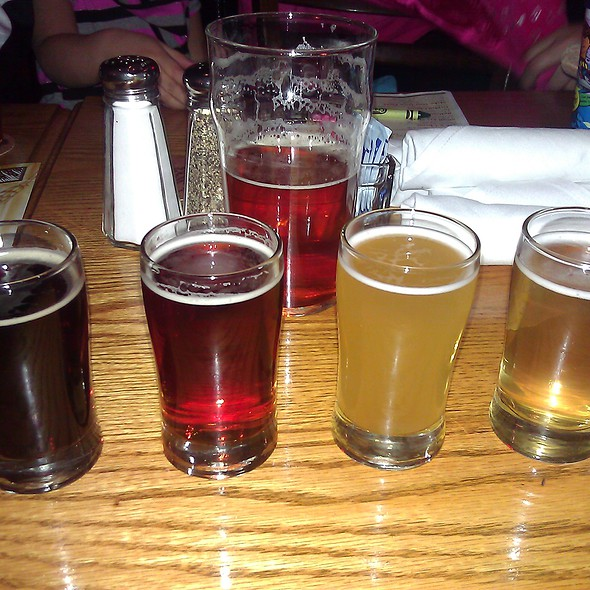 Beer Sampler - Rock Bottom Brewery Restaurant - Indianapolis, Indianapolis, IN