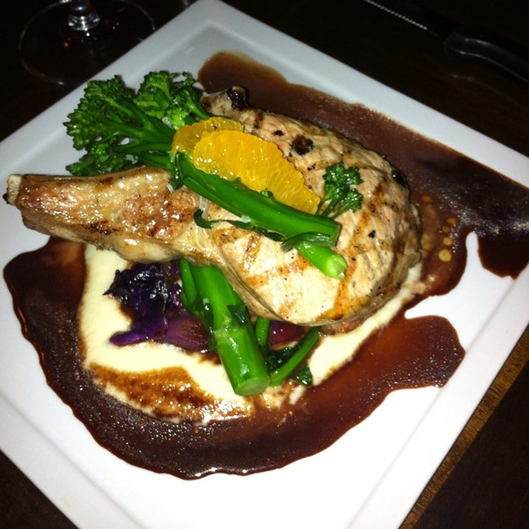 Pork Chop - Purple Palm at the Colony Palms Hotel, Palm Springs, CA