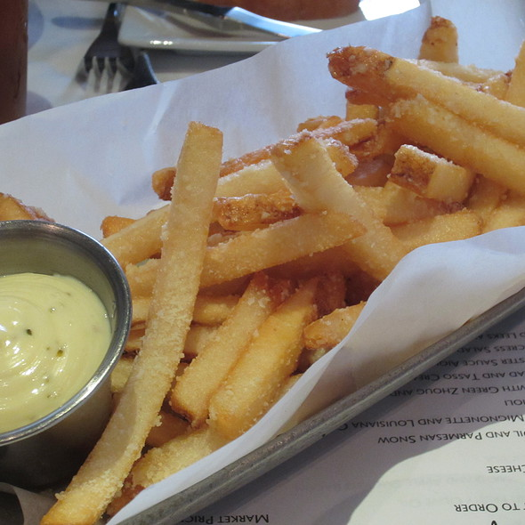 Kerbey Finger's French Fries - Ibiza Food and Wine Bar, Houston, TX