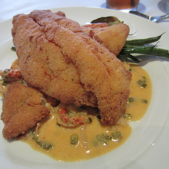 Buttermilk Fried Catfish Filet - Ibiza Food and Wine Bar, Houston, TX