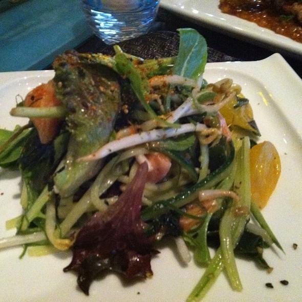 Salmon Poke Seaweed Salad - Starfish Restaurant, Laguna Beach, CA