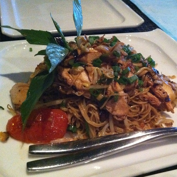 Wild Mushroom Garlic Noodles - Starfish Restaurant, Laguna Beach, CA