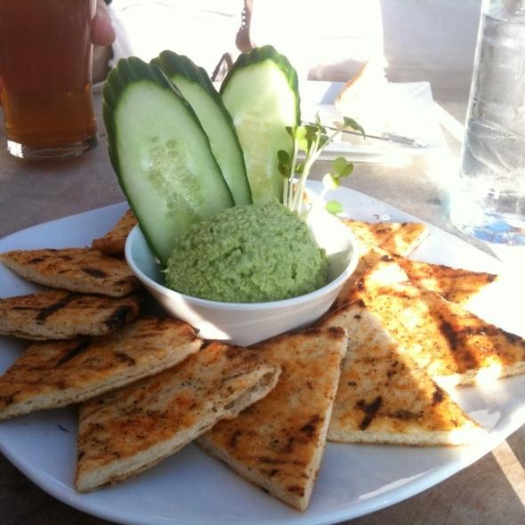 Fava Edamame Hummus - Sugarbeet, Longmont, CO