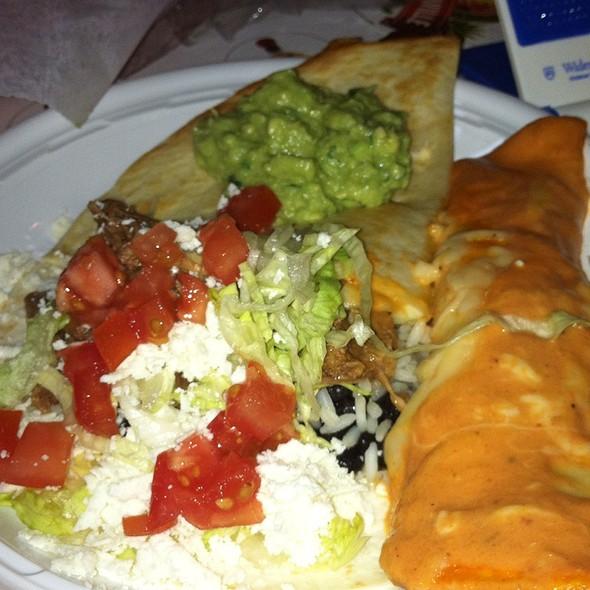 Cheese and Chicken Enchiladas - Dos Gringos Mexican Kitchen, Media, PA