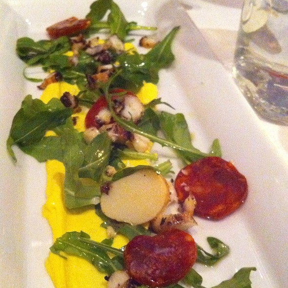 Grilled Octopus, Spanish Chorizo, Saffron Aiolii - Prelude at McCaw Hall, Seattle, WA