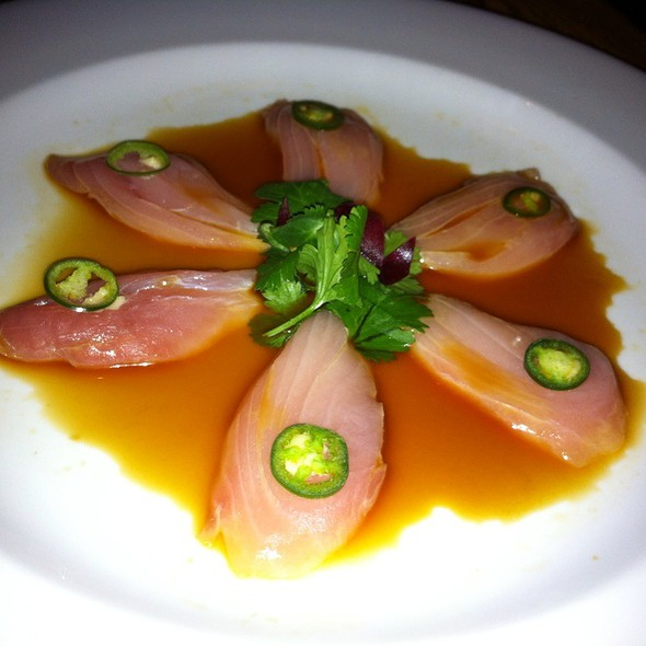 Yellowtail with Jalapeño - Nobu Las Vegas - Hard Rock Hotel & Casino, Las Vegas, NV