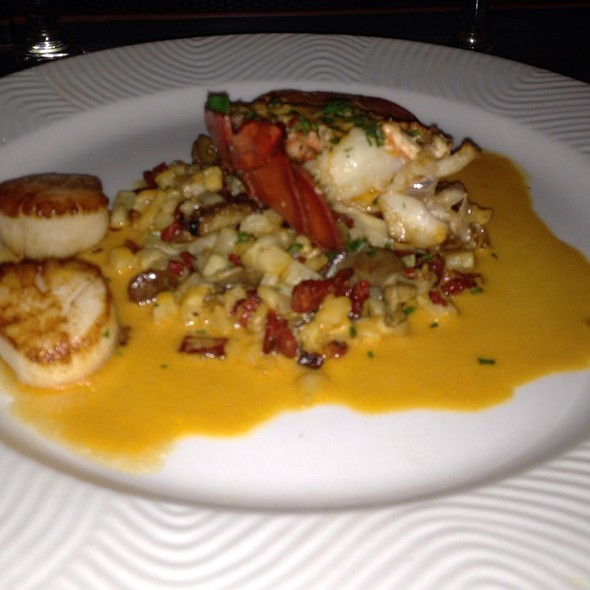 Duo Of Sauteed Lobster And Sea Scallops - La Voile, Boston, MA