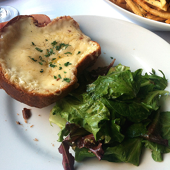 Open-Faced Croque Monsieur - La Bergamote, New York, NY