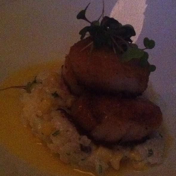 Scallops With Sweet Corn Risotto - Breakwater Restaurant & Bar - Beaufort, Beaufort, SC