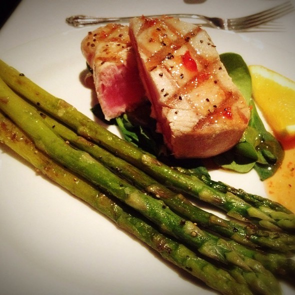 Pepper Seared Ahi Tuna - Sterling's Seafood Steakhouse at Silver Legacy Resort Casino, Reno, NV