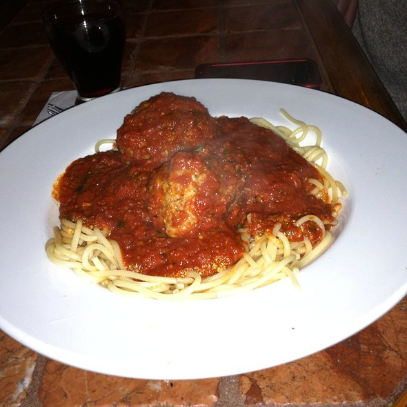 Spagetti And Meatballs - Zia Marie, Virginia Beach, VA