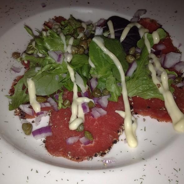 Beef Carpaccio - Back Burner Restaurant, Hockessin, DE