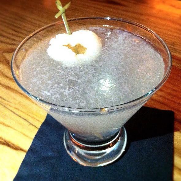 Lychee & Elderflower Martini - Nobu Dallas, Dallas, TX