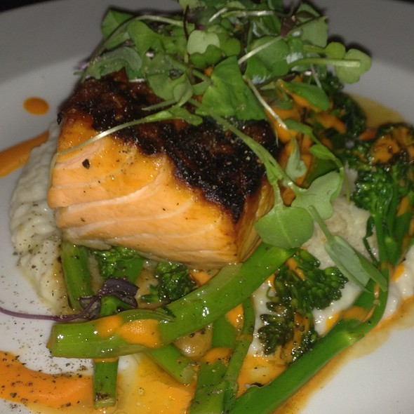 Salmon With Broccolini And Cauliflower Puree - Vivace - Charlotte, Charlotte, NC