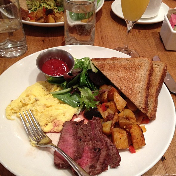 Steak and Eggs - East End Kitchen, New York, NY