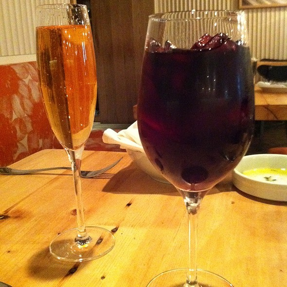 Winter Sangria And St Andrea Brunch Cocktails - Amali, New York, NY