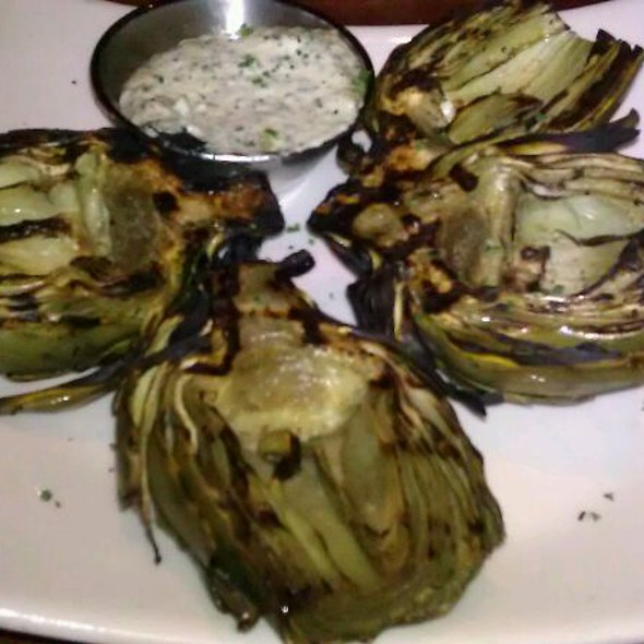 Fire Roasted Artichoke - J. Alexander's - Redland's Grill - Northbrook, Northbrook, IL