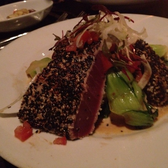Seared Ahi - Mozambique Restaurant, Laguna Beach, CA