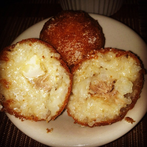 Arancini Di Riso Stuffed With Mozzerella And Ragout - La Morra, Brookline, MA