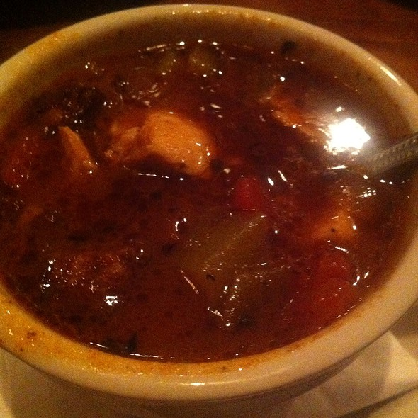 Low Country Gumbo - Plums Restaurant, Beaufort, SC