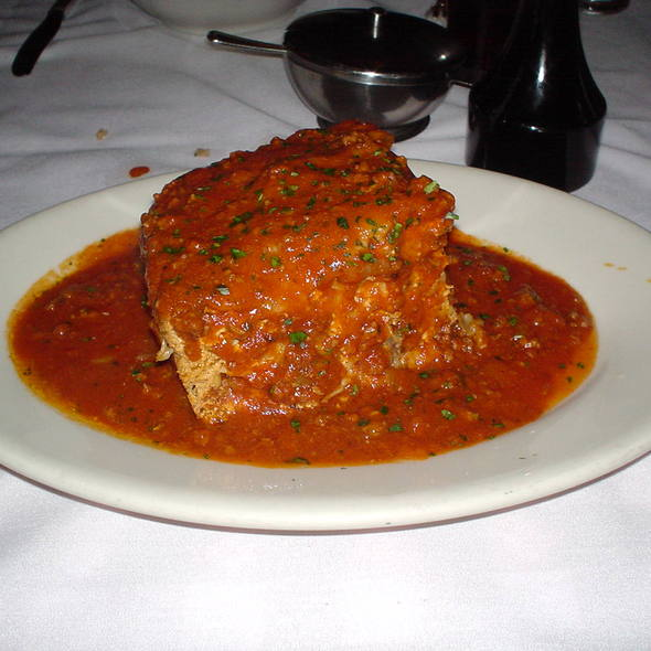 Meat Lasagna - Maggiano's - Boston, Boston, MA