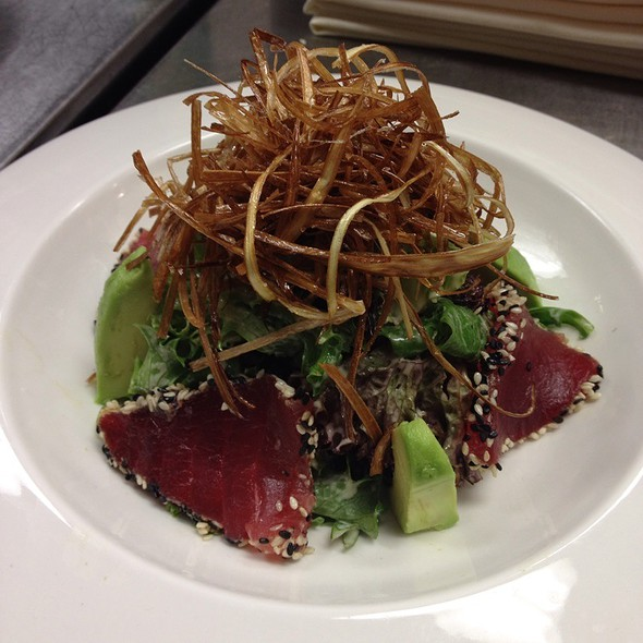 Sesame Crusted Ahi Tuna Salad - JUST, Old Bridge, NJ