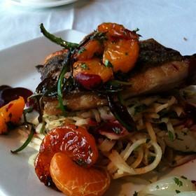 Pan Seared Rockfish - Table 16, Greensboro, NC