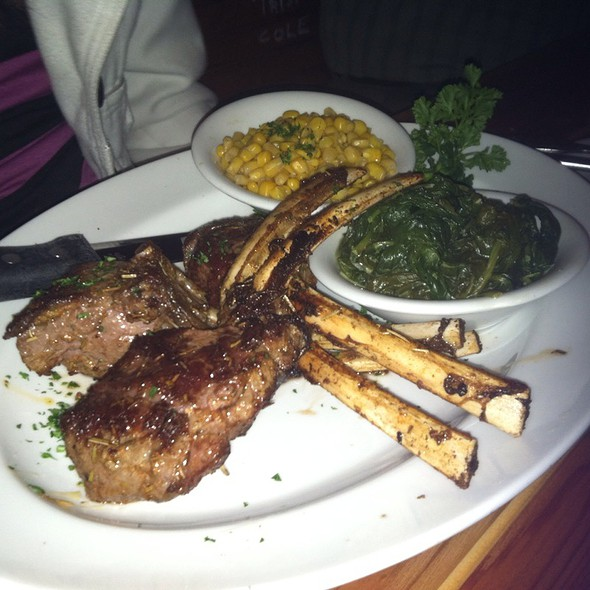 Grilled New Zealand Lamb Rack - The Galley, Santa Monica, CA