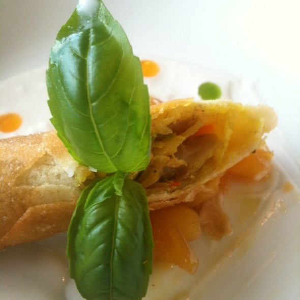 Egg Roll With Mango Chutney - Leis Family Class Act Restaurant, Kahului, HI
